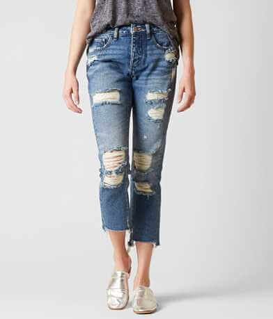 Gilded Intent High Rise Ankle Straight Jean