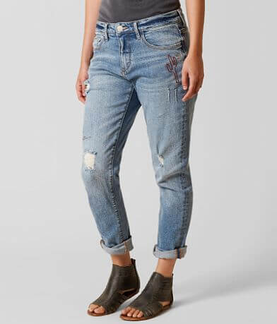Gilded Intent Mid-Rise Slouchy Skinny Jean