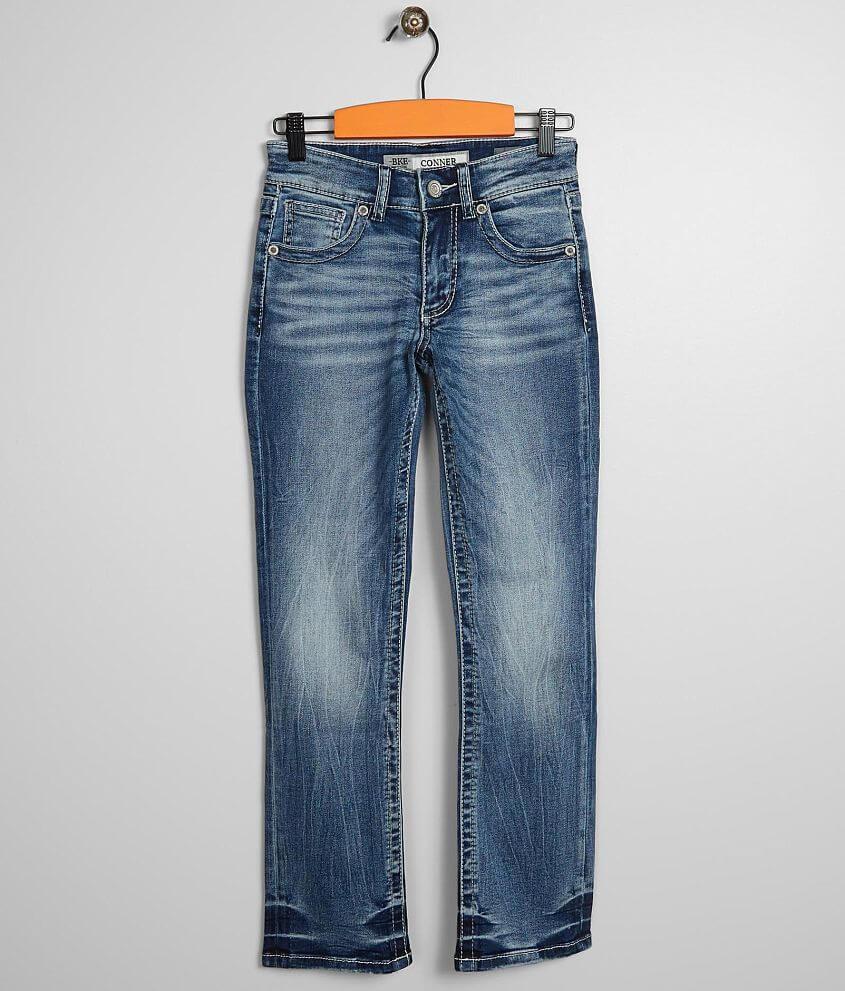 fa8e4fe9 Boys - BKE Conner Straight Stretch Jean - Boy's Jeans in Speicher | Buckle