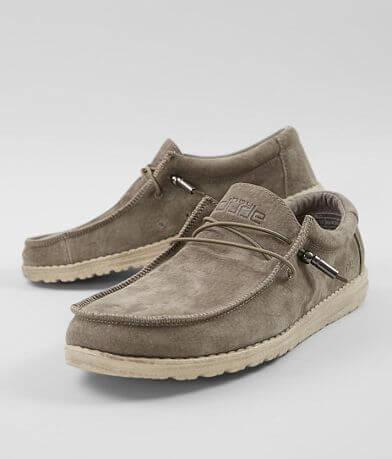 Hey Dude Wally Suede Shoe