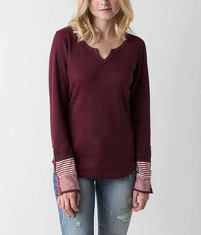 BKE Split Neck Thermal Top