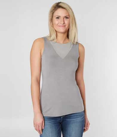 red by BKE Scoop Neck Tank Top