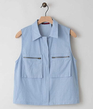 red by BKE Chambray Shirt