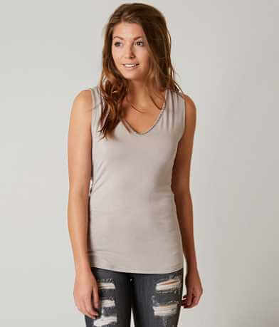 BKE Boutique Embellished Tank Top