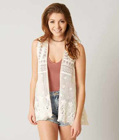 BKE Boutique Crochet Vest