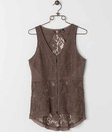 BKE Boutique Lace Vest