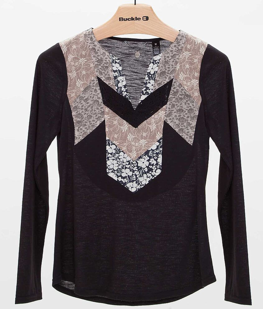 BKE Boutique Pieced Top front view