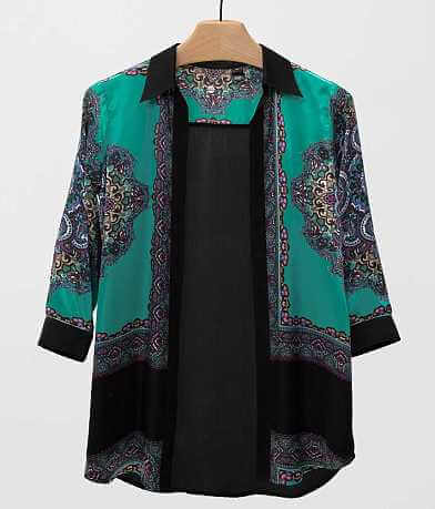 BKE Boutique Pieced Cardigan
