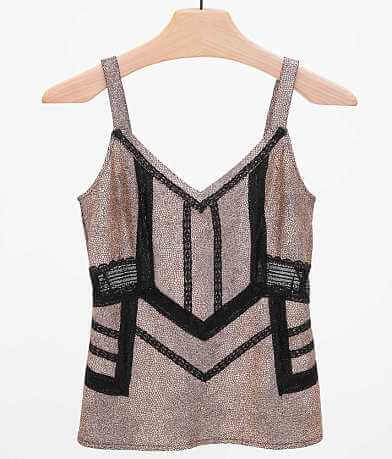 BKE Boutique Foiled Tank Top