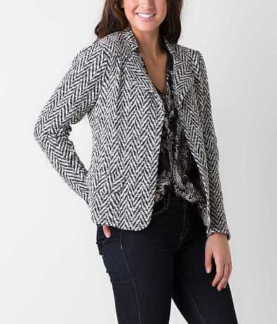 BKE Boutique Herringbone Blazer