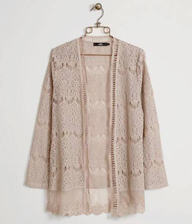 BKE Boutique Crochet Cardigan