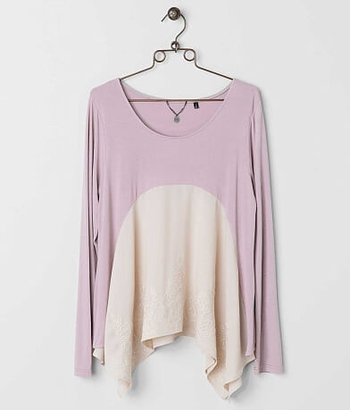 BKE Boutique Embroidered Top