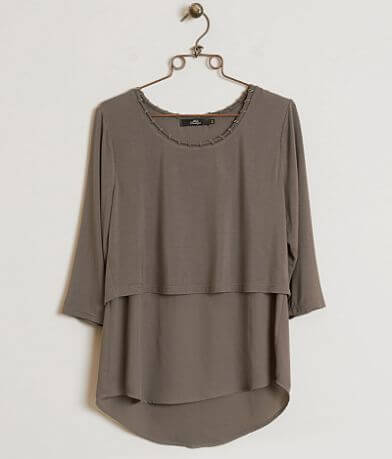 BKE Boutique Layered Top