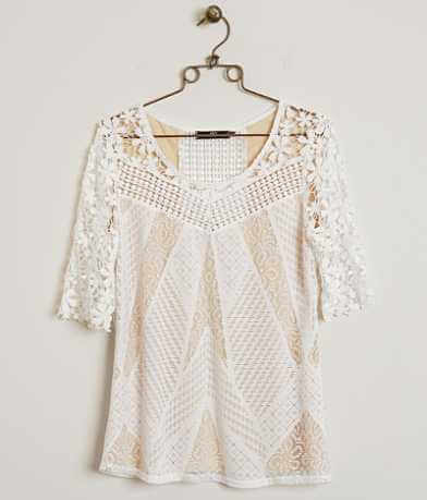 BKE Boutique Laser Cut Top
