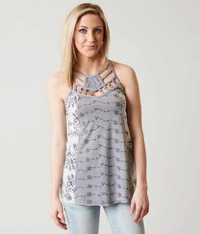 BKE Boutique Trapeze Tank Top