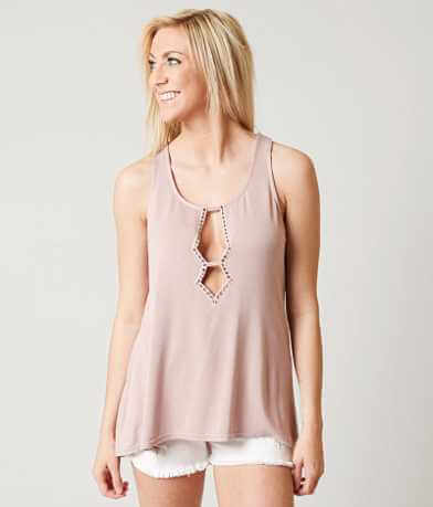 BKE Boutique Cut-Out Tank Top