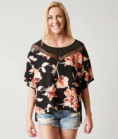 BKE Boutique Floral Top