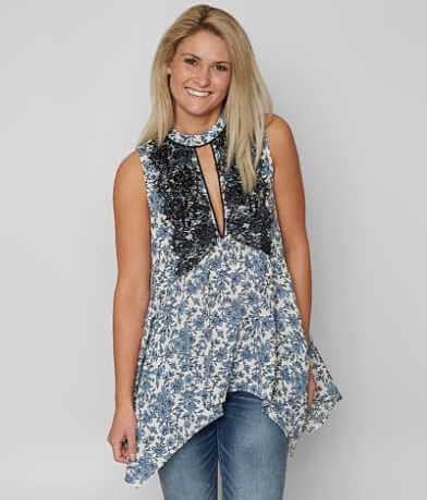 BKE Boutique Floral Tank Top
