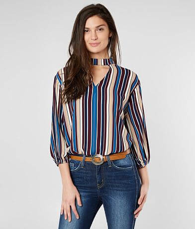 BKE Boutique Striped Top