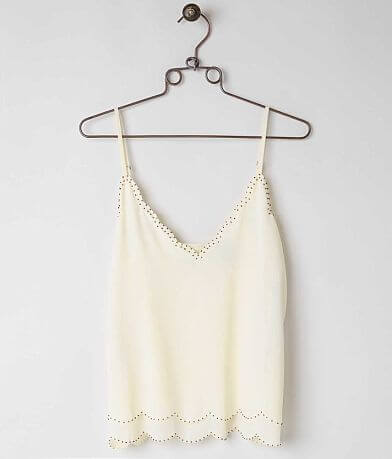BKE Boutique Beaded Tank Top