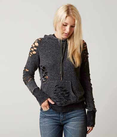 Gilded Intent Shredded Sweatshirt