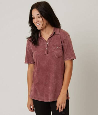 Gilded Intent Washed Polo
