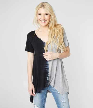 Gilded Intent Speckled Raw Edge T-Shirt