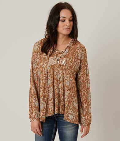 Gilded Intent Printed Top