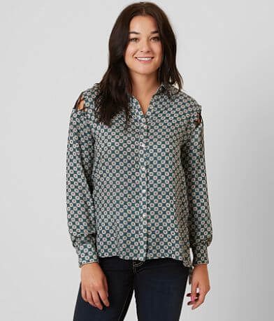 Gilded Intent Printed Shirt