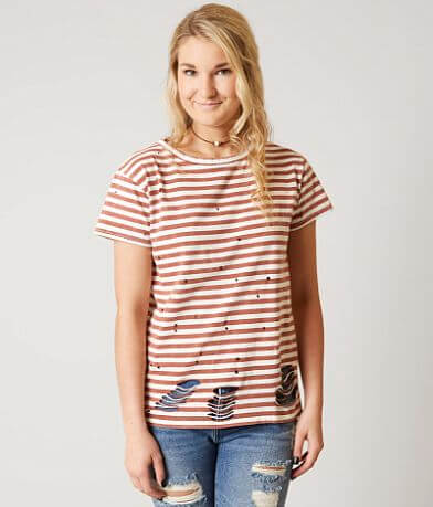 Gilded Intent Striped T-Shirt