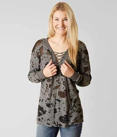 Gilded Intent Burnout Sweatshirt