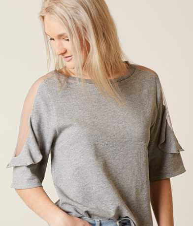 Gilded Intent Ruffle Top