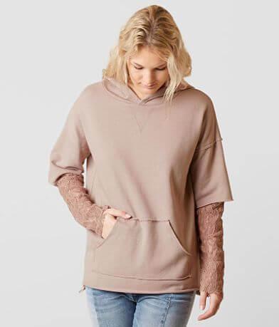 Gilded Intent Pieced Sweatshirt
