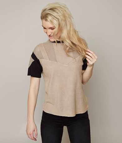Gilded Intent Color Block Top