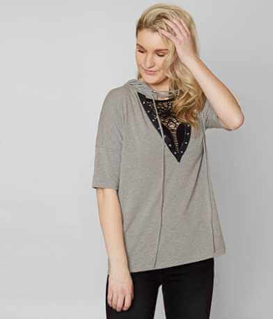 Gilded Intent Hooded T-Shirt