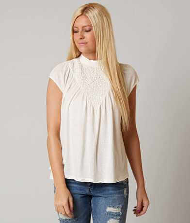 Gimmicks Mock Neck Top