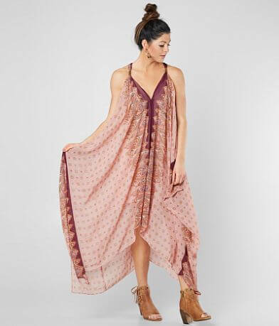 Gimmicks Embellished Chiffon Maxi Dress