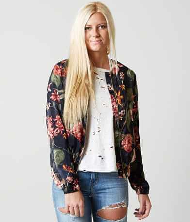 Gimmicks Floral Bomber Jacket