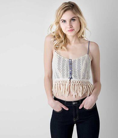 Gimmicks Crochet Overlay Bralette
