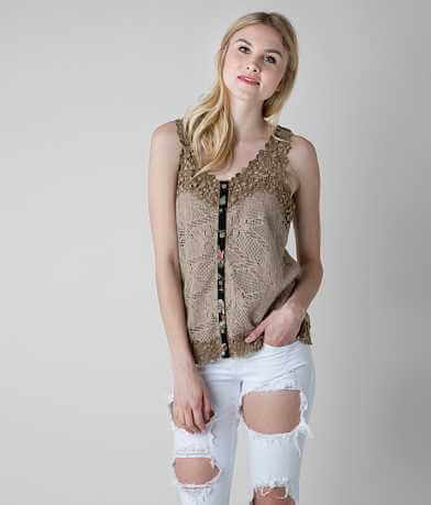 Gimmicks Crochet Tank Top