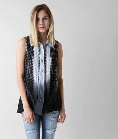 Gimmicks Lace Applique Shirt