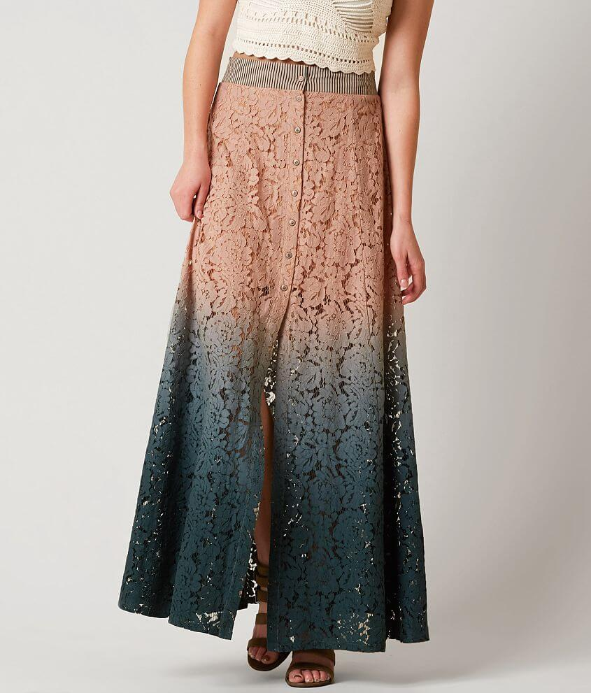 Gimmicks Lace Maxi Skirt front view