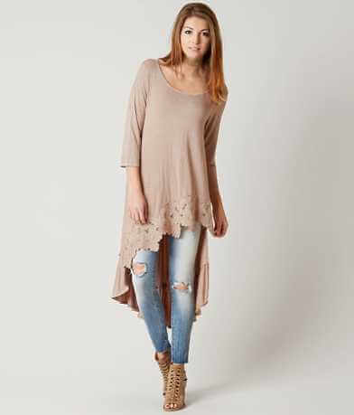 Gimmicks Washed Tunic Top