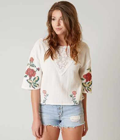 Gimmicks Cross Stitch Top