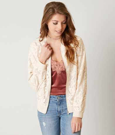 Gimmicks Lace Bomber Jacket