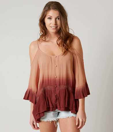 Gimmicks Cold Shoulder Top