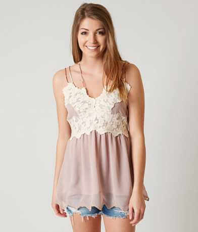 Gimmicks Chiffon Tank Top