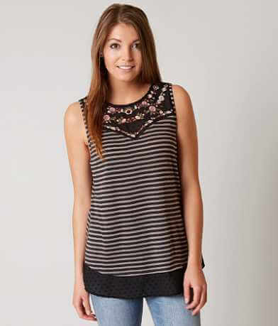 Gimmicks Striped Tank Top