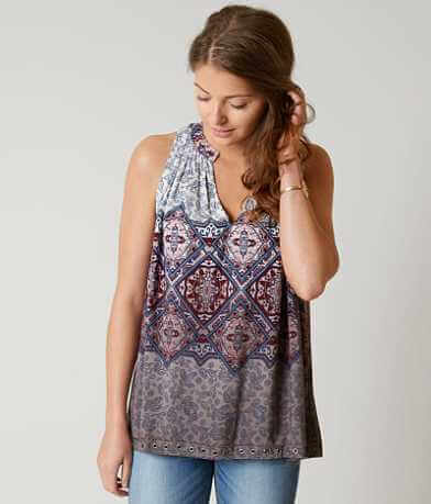 Gimmicks Printed Tank Top