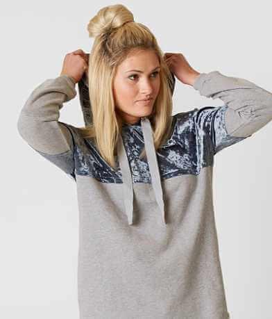 Gimmicks Velvet Hooded Sweatshirt